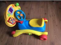 VTECH GROW AND GO 3 IN 1 RIDE ON