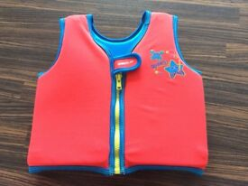 Childs speedo sea squad float buoyancy vest