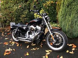 Harley Davidson 883 Sportster Super Low