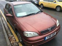 Vauxhall astra 1.6 8v cheap insurance new mot make me an offer