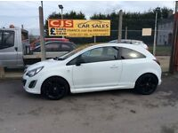 Vauxhall corsa limited edition 1.2 sxi 3 door 2011 one owner 30000 fsh full year mot mint car