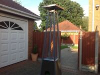 Living Flame AZ Patio Heater, lightly used excellent condition