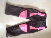 Ladies motorcycle trousers