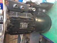 Electric motor Leroy Summer LSMV100L high accuracy stepper motor