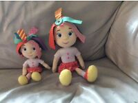 Everything's Rosie dolls x2 and dvd