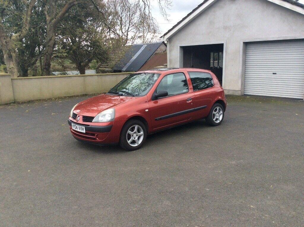 2004 Renault Clio Expression 1.2 petrol