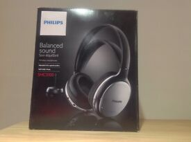 Philips wireless headphones , never used still in box
