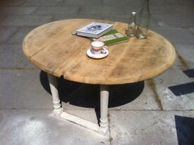 FARMHOUSE COTTAGE COFFEE TABLE -poss shabby chic-vintage