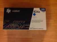 HP 824A Cyan Original LaserJet Toner Cartridge (BNIB Sealed)