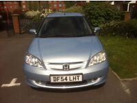 2005 HONDA CIVIC 1.3 IMA HYBRID PETROL EXECUTIVE 4DR £30 ROAD TAX £1499 - A MUST WATCH