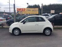 Fiat 500 1.2 petrol 2013 one owner 30000 fsh long mot fullyserviced mint we car may px