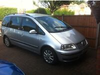 Vw Sharan Tdi Sport Carrot, Full Leather Interior, Semi Auto 54 Plate