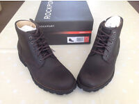 *NEW in BOX* Rockport Street Escape Zip Lace Boot, Brown, Size 9, Adiprene