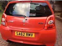 Suzuki Alto 2012 62 Red Low Mileage Immaculate Condition REDUCED QUICK SALE MUST GO!!