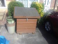 Wooden Garden Bunker