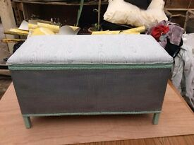 Ottoman/ Storage Box Hand Painted And Redecorated £15 Attleborough Free Delivery 10 Mile Radius