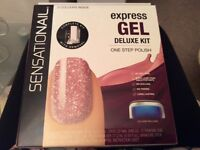 SENSATIONAL EXPRESS GEL DELUXE KIT LED LAMP INCLUDED