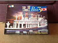 Mississippi Steam Boat 3D puzzle