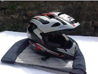 AIROH FULL FACE MOTOCROSS HELMET SIZE LARGE IN EXCELLENT CONDITION