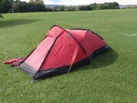 FOR SALE, UNUSED, AS NEW- Bandicoot 2 Man Semi Geodesic Tent