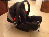 Graco Logico S Baby Seat complete with Base Unit