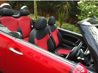 For sale 2005 Mini one Chilli red convertible
