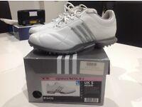 Adidas Ladies Golf Shoes Signature Natalie 2 white/Silver UK 5
