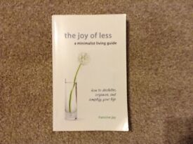 The Joy of Less - the best decluttering book!