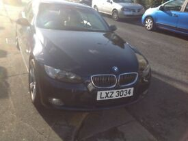 BMW 330d convertible 2007 paddle shift auto fresh mot