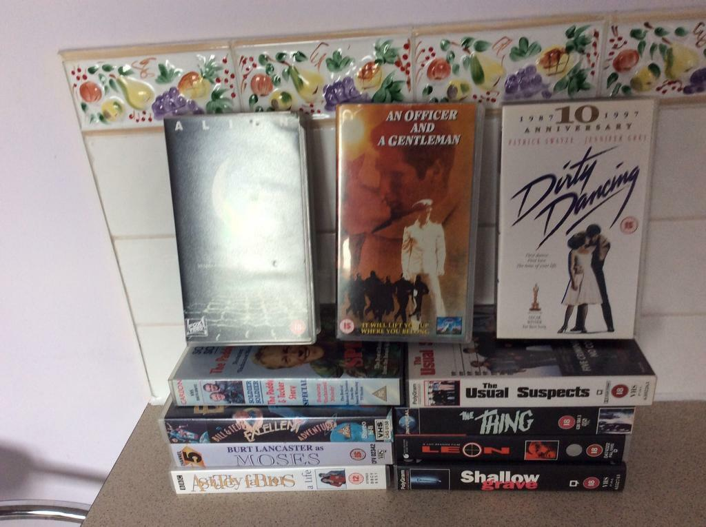 VHS TAPES | in Blackwood, Caerphilly | Gumtree