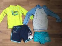 Baby/Toddler/Boy swimming/beach clothes - size 24m/2y