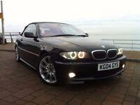 2004 E46 BMW 330ci M SPORT CABRIOLET CONVERTIBLE 231 BHP, AUTO, XENONS
