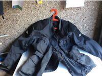 Motorcycle jacket size large
