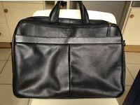 Briefcase - Howick Men's Black Briefcase