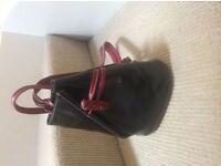 New and unused Italian designer leather handbag.