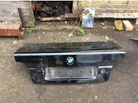 BMW E39 boot lid