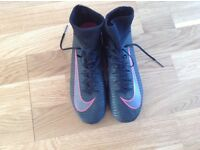 Nike mercurial sock boots size UK 5