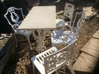 Lovely French style garden patio set