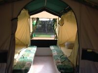 Sunncamp 2004 TRAILER TENT prices includes many extras.
