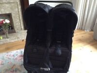 Baby Jogger City Mini GT Double Pus hchair, Black Perfect condition