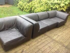 Old leather sofas any offer