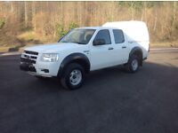 09 Ford Ranger Dcab with front winch