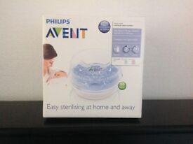 Avent Microwave steam steriliser - new!