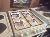 Gas cooker,fitted with f.s.d, £95.00,