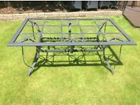 Six seater garden table