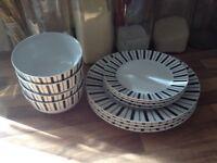 TU by Sainsbury's dinnerware set 12 pieces