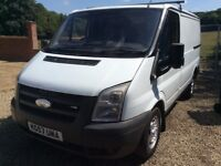 2007 57 ford transit swb low roof no vat read advert 2nd gear fault