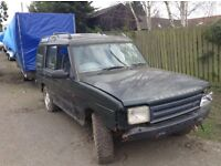 Land Rover discovery 5door diesel 300 series spares or repair no paper work drives well farm car