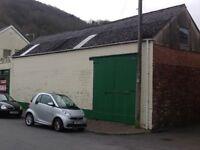 Garage/ Workshop/ Storage Unit to Rent - Neath