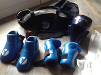 SMAC sparring kit with bag age 8